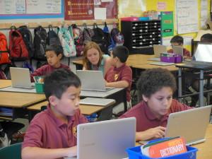 Cornerstone Academy - 4th grade class