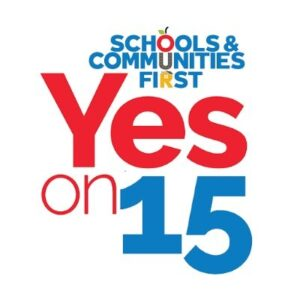 Vote Yes on California Proposition 15