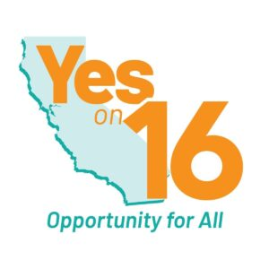 Vote Yes on California Proposition 16
