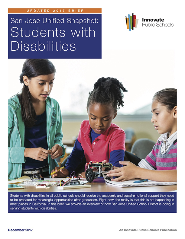 2017 Spotlight on Students with Disabilities in Schools within SJUSD