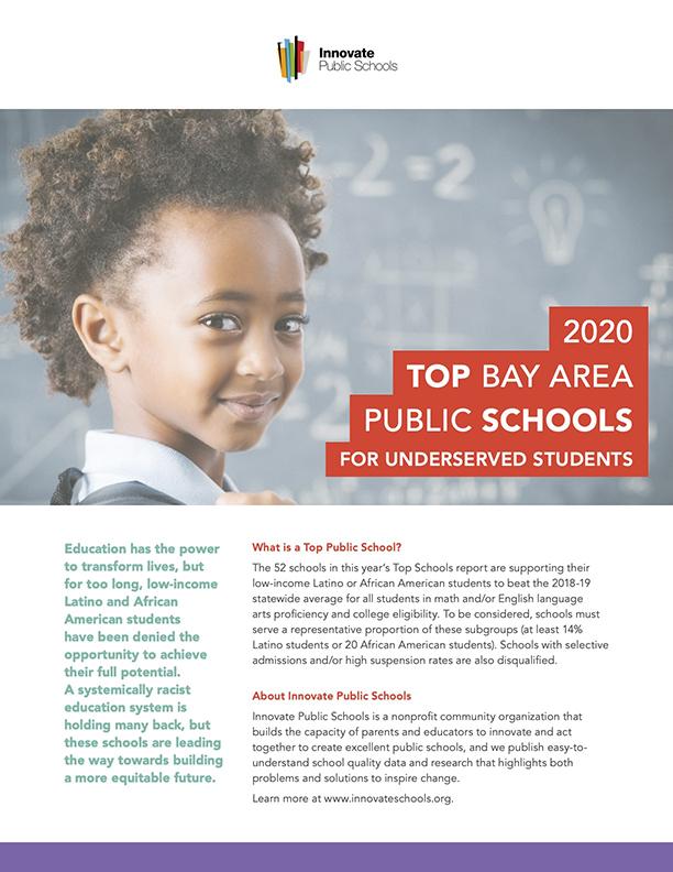 2020 Bay Area Top Schools