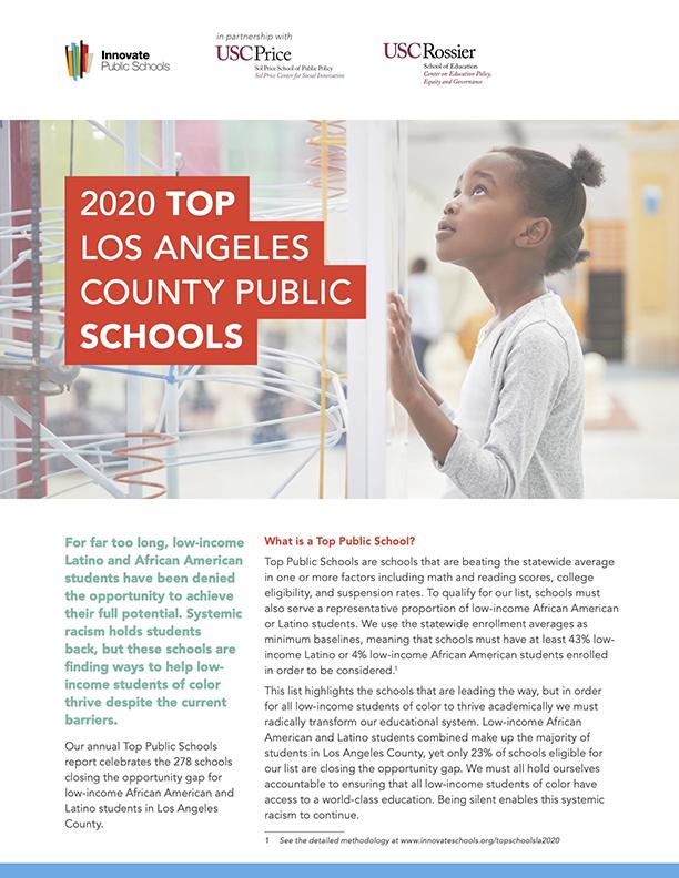 2020 Los Angeles Top Schools